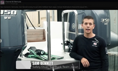 Sam Bennett is doing his part within SoftBank Team Japan